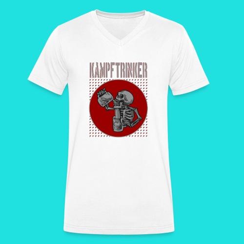 Kampftrinker - Männer Bio-T-Shirt mit V-Ausschnitt von Stanley & Stella