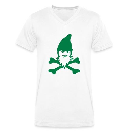 Freibeuter Zwerg - Männer Bio-T-Shirt mit V-Ausschnitt von Stanley & Stella