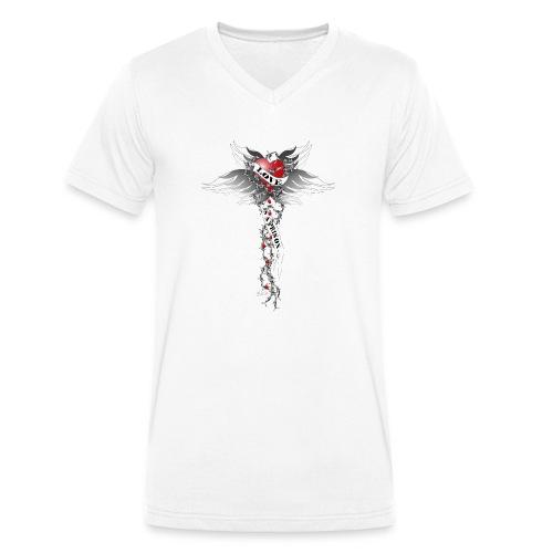 Love is a prison - Liebe ist ein Gefängnis - Männer Bio-T-Shirt mit V-Ausschnitt von Stanley & Stella
