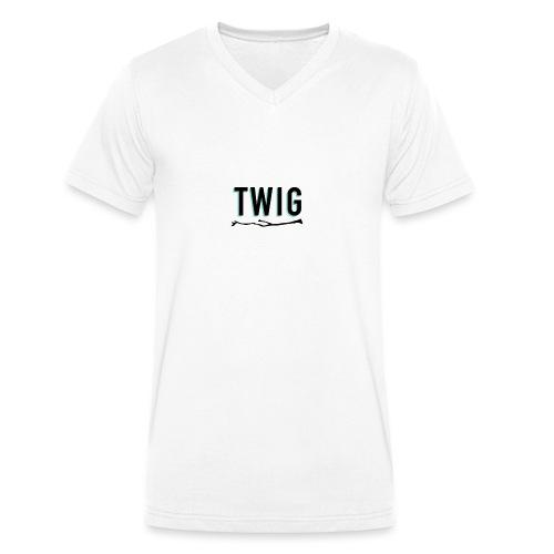 TWIG_3 - T-shirt bio col V Stanley & Stella Homme