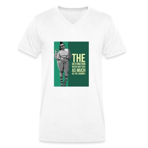 girlquote - T-shirt bio col V Stanley & Stella Homme