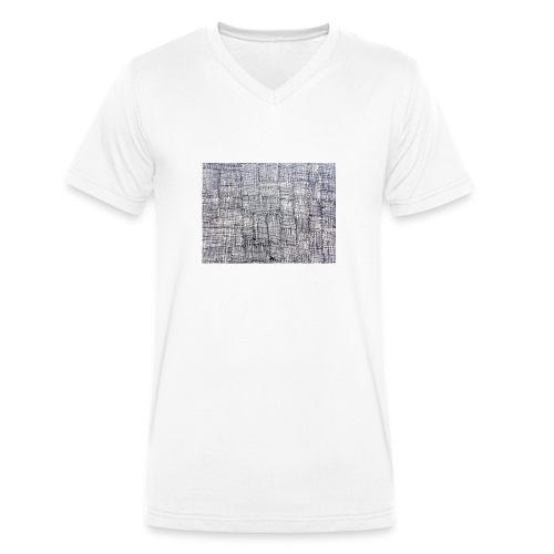 disegno_per_magliette_1-jpg - T-shirt ecologica da uomo con scollo a V di Stanley & Stella