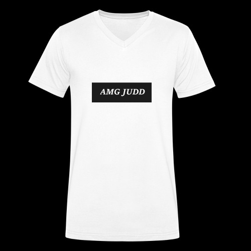 AMG logo - Men's Organic V-Neck T-Shirt by Stanley & Stella