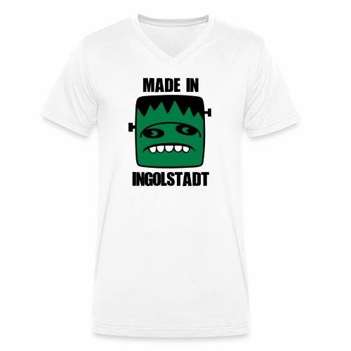 Fonster made in Ingolstadt - Männer Bio-T-Shirt mit V-Ausschnitt von Stanley & Stella