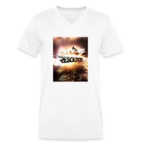 RESOURCES Splash Screen - Männer Bio-T-Shirt mit V-Ausschnitt von Stanley & Stella