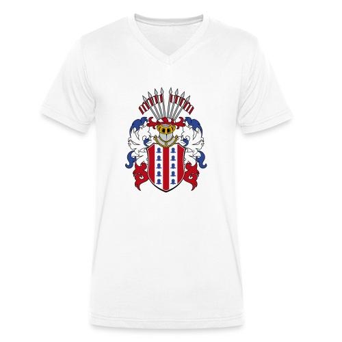 wappen amelunxen historisch - Männer Bio-T-Shirt mit V-Ausschnitt von Stanley & Stella