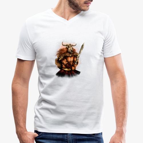 Bataille pour l'honneur - T-shirt bio col V Stanley & Stella Homme