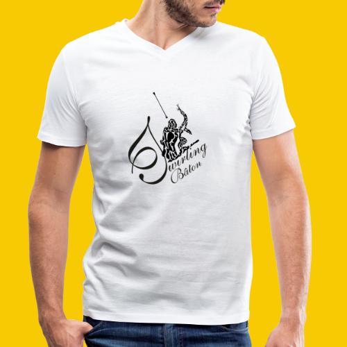 twirling b 2 - T-shirt bio col V Stanley & Stella Homme