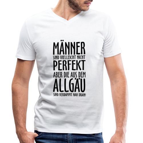 Männer aus dem Allgäu - Männer Bio-T-Shirt mit V-Ausschnitt von Stanley & Stella