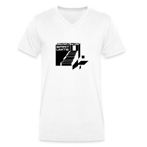 Spiritlimits first edition - Männer Bio-T-Shirt mit V-Ausschnitt von Stanley & Stella