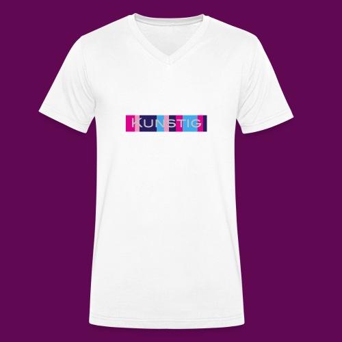 Hoofdlogo - Mannen bio T-shirt met V-hals van Stanley & Stella