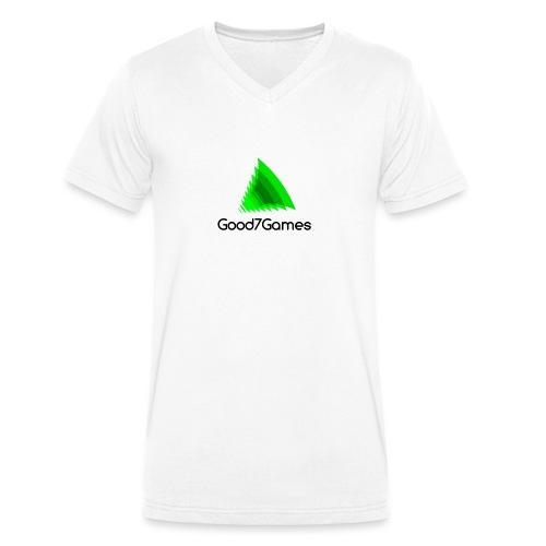 Good7Games logo - Mannen bio T-shirt met V-hals van Stanley & Stella