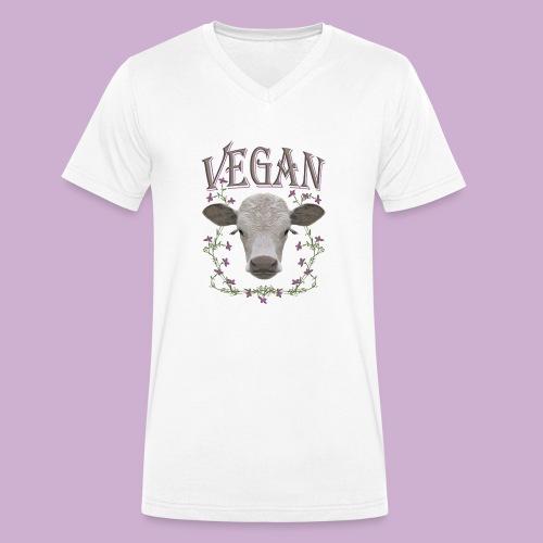 VEGAN - Männer Bio-T-Shirt mit V-Ausschnitt von Stanley & Stella