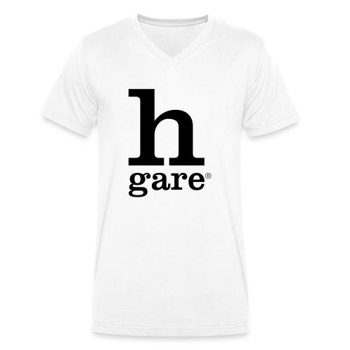 HGARE LOGO - T-shirt ecologica da uomo con scollo a V di Stanley & Stella
