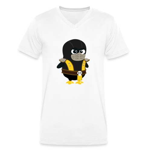 Pingouin Mortal Scorpion - T-shirt bio col V Stanley & Stella Homme