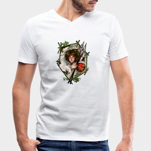 Geneworld - Mononoke - T-shirt bio col V Stanley & Stella Homme