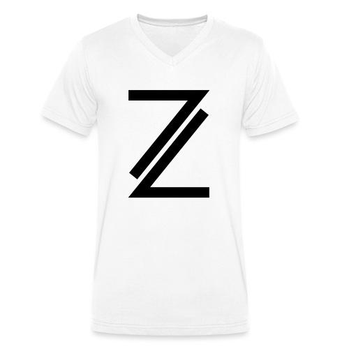 Z - Men's Organic V-Neck T-Shirt by Stanley & Stella