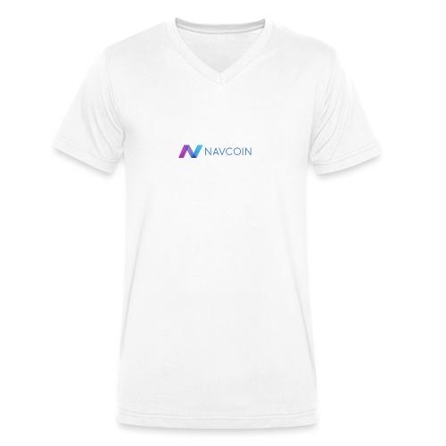 Navcoin (Nav) - Männer Bio-T-Shirt mit V-Ausschnitt von Stanley & Stella