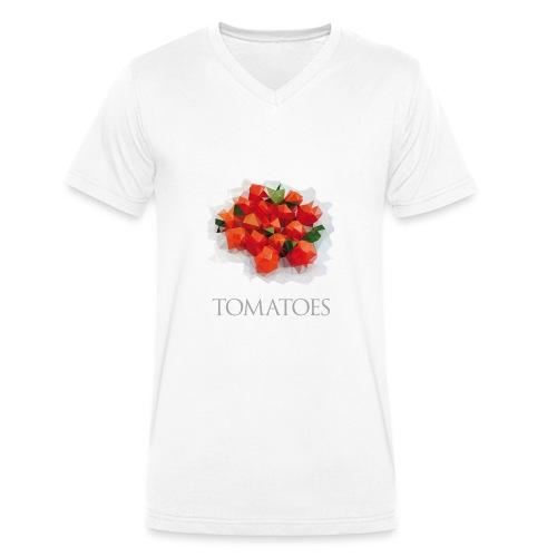 Tomatoes - T-shirt bio col V Stanley & Stella Homme