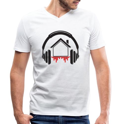 mix at home Logo - T-shirt bio col V Stanley & Stella Homme