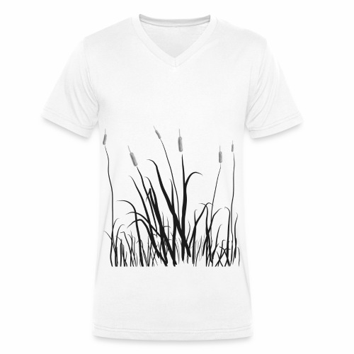 The grass is tall - T-shirt ecologica da uomo con scollo a V di Stanley & Stella