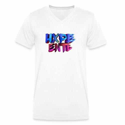 HXPEE-Shirts - Männer Bio-T-Shirt mit V-Ausschnitt von Stanley & Stella