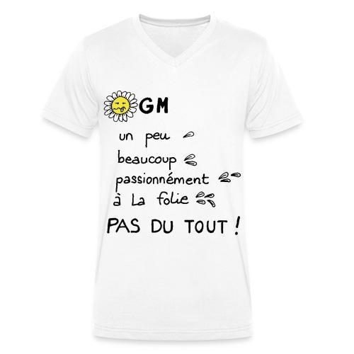 OGMEUH - T-shirt bio col V Stanley & Stella Homme