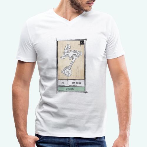 Principe - Männer Bio-T-Shirt mit V-Ausschnitt von Stanley & Stella