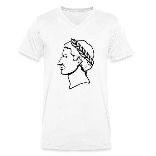 Gaius Julius Caesar - Männer Bio-T-Shirt mit V-Ausschnitt von Stanley & Stella