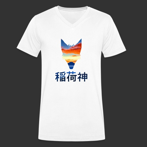 Inari Fox (Fuji Edition) - T-shirt bio col V Stanley & Stella Homme