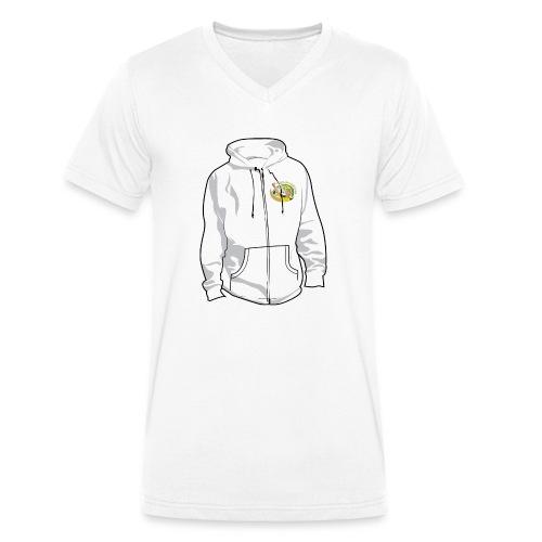 hoodyfront - Mannen bio T-shirt met V-hals van Stanley & Stella