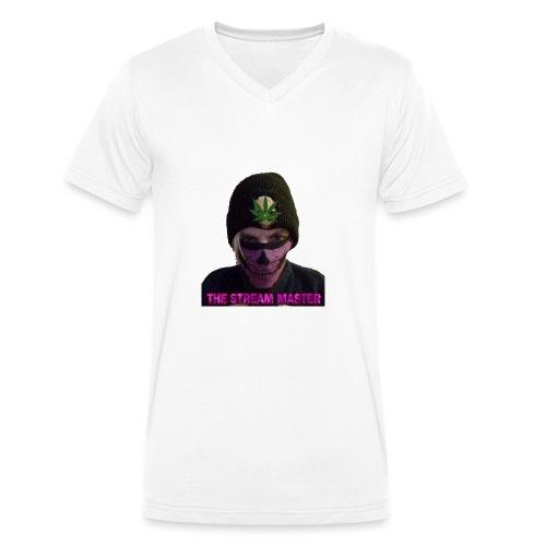 420 stream master - Men's Organic V-Neck T-Shirt by Stanley & Stella