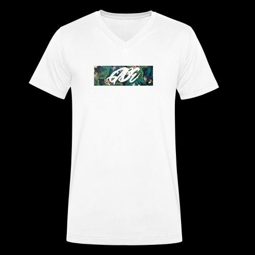 GABE FLOW - Männer Bio-T-Shirt mit V-Ausschnitt von Stanley & Stella