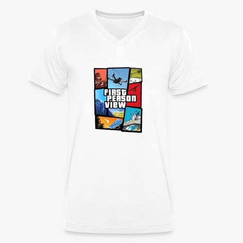 Ultimate Video Game - Men's Organic V-Neck T-Shirt by Stanley & Stella
