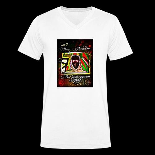 Hazer-das kaputt gegangene Bild - Männer Bio-T-Shirt mit V-Ausschnitt von Stanley & Stella