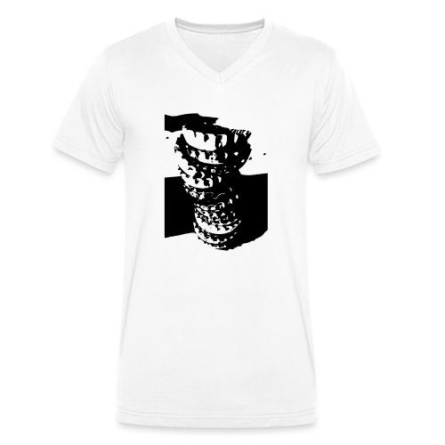 Kronkorken - Männer Bio-T-Shirt mit V-Ausschnitt von Stanley & Stella
