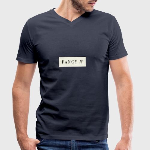 Fancy AF - Mannen bio T-shirt met V-hals van Stanley & Stella
