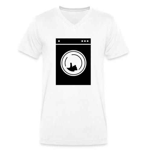 washing machine bear - T-shirt bio col V Stanley & Stella Homme