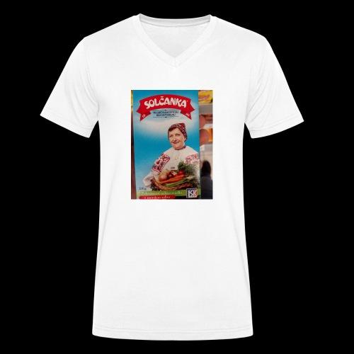 Babushka's fines - Men's Organic V-Neck T-Shirt by Stanley & Stella