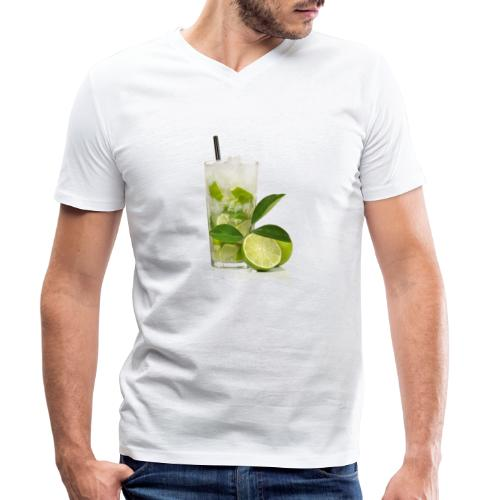 Caïpirinha - Men's Organic V-Neck T-Shirt by Stanley & Stella