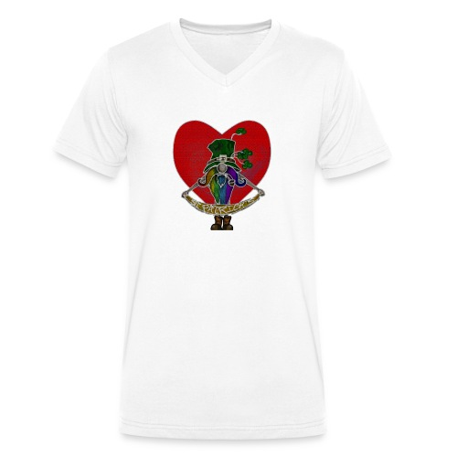 St Patricks - Men's Organic V-Neck T-Shirt by Stanley & Stella