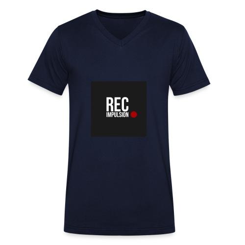 REC - T-shirt bio col V Stanley & Stella Homme
