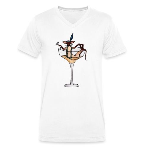 Champagne - Ekologisk T-shirt med V-ringning herr från Stanley & Stella