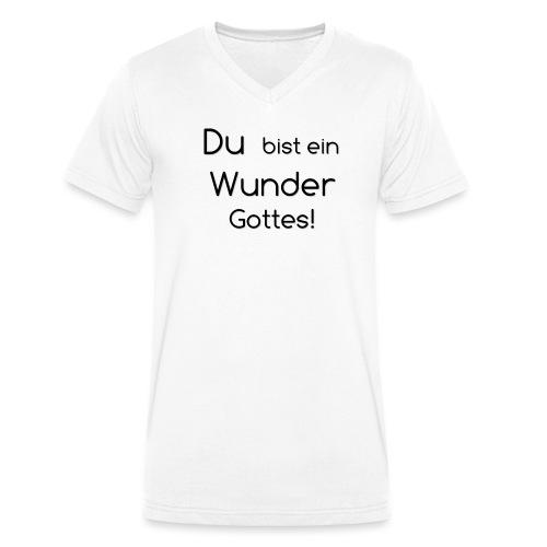 Wunder png - Männer Bio-T-Shirt mit V-Ausschnitt von Stanley & Stella
