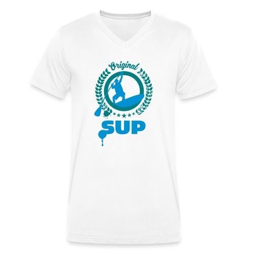 SUP Nr.4 - Männer Bio-T-Shirt mit V-Ausschnitt von Stanley & Stella