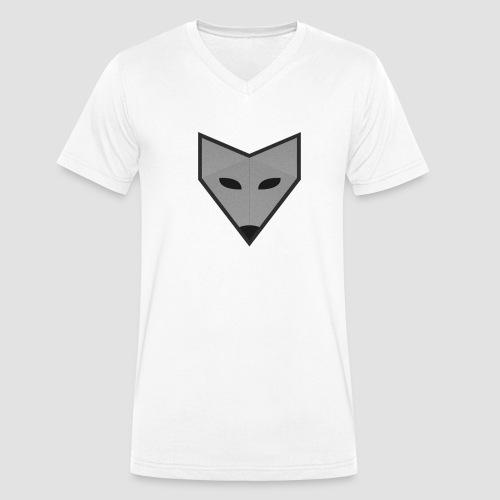 FoxxFamily sw - Männer Bio-T-Shirt mit V-Ausschnitt von Stanley & Stella