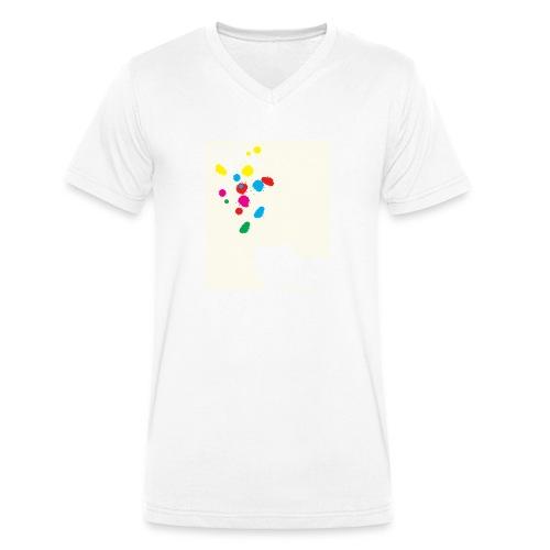 artOFrebellion - T-shirt ecologica da uomo con scollo a V di Stanley & Stella