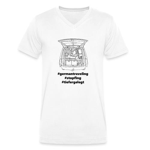 #NumberTwo - Männer Bio-T-Shirt mit V-Ausschnitt von Stanley & Stella
