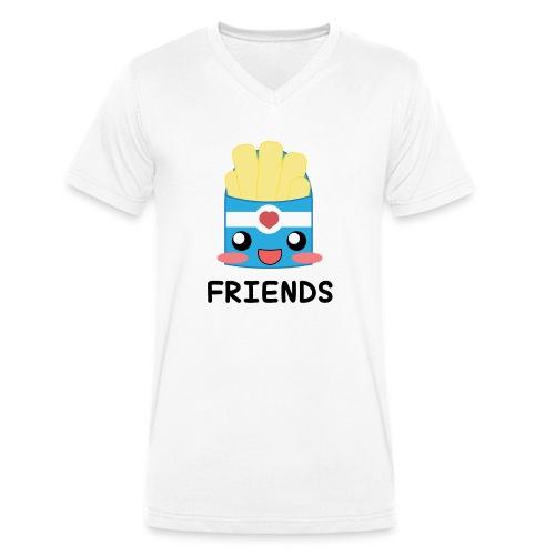 potatoes - T-shirt ecologica da uomo con scollo a V di Stanley & Stella