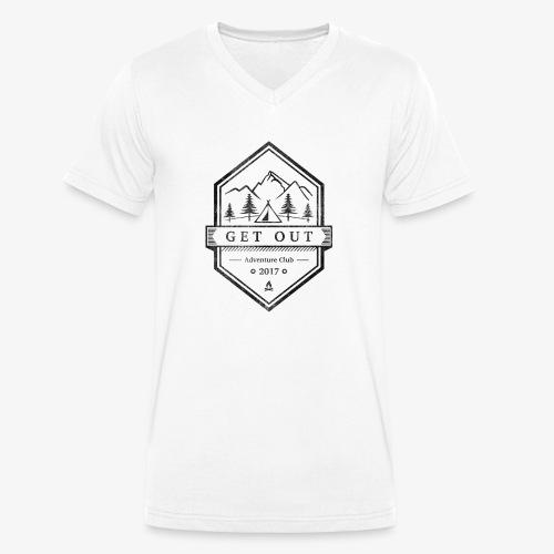 WappenBlackVintage - Männer Bio-T-Shirt mit V-Ausschnitt von Stanley & Stella